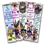Bible Bookmarks with Holy Scriptures written in Calligraphy
